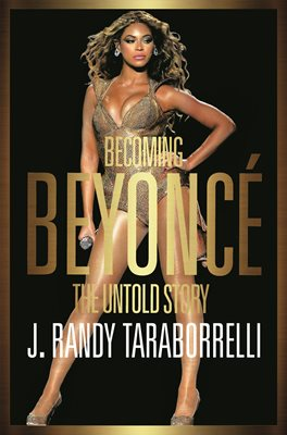 Book cover for Becoming Beyoncé